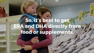 Differences Between ALA, EPA and DHA
